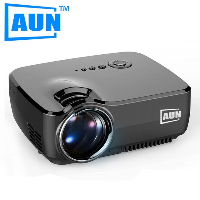 AUN Projector 1200 Lumens Free HDMI Cable Mini Projector Support 1920x1080P LED Projector for Home Cinema Digital TV Partr AM01 US $78.43-110.67 /piece To Buy Or See Another Product Click On This Link  http://goo.gl/EuGwiH