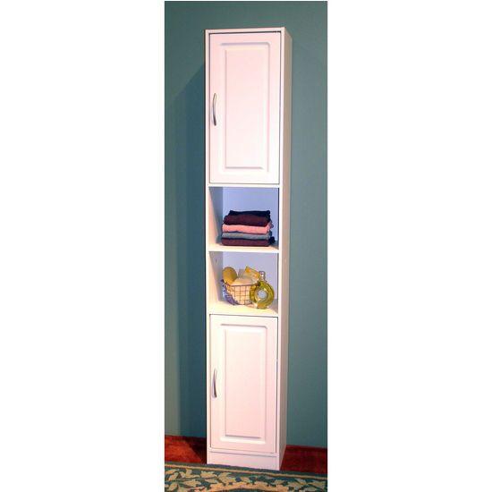 Bathroom Storage - Freestanding Bathroom Storage Tower from 4D Concepts |  KitchenSource.com - Best 25+ Freestanding Bathroom Storage Ideas On Pinterest White