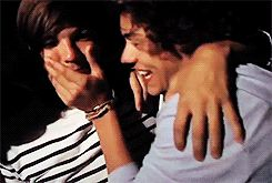 Can we talk Can we just talk About fetus Larry's obvious embarrassing blatant stupid dumb crushes on each other? Because I need to talk about this. [[MORE]](Note - I don't know who made any of these...