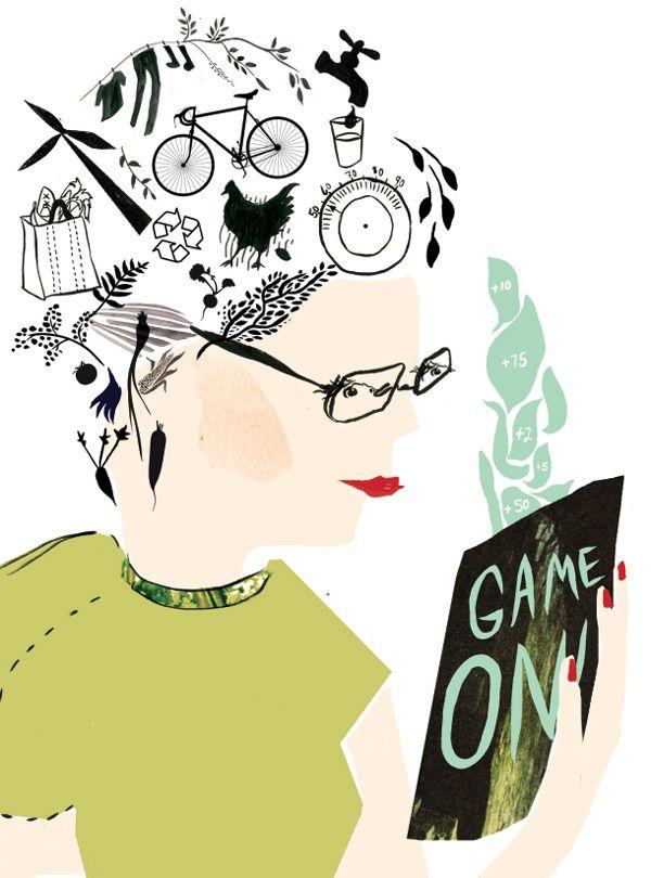 """Gamification"" - Kate Worum Illustration MSP"