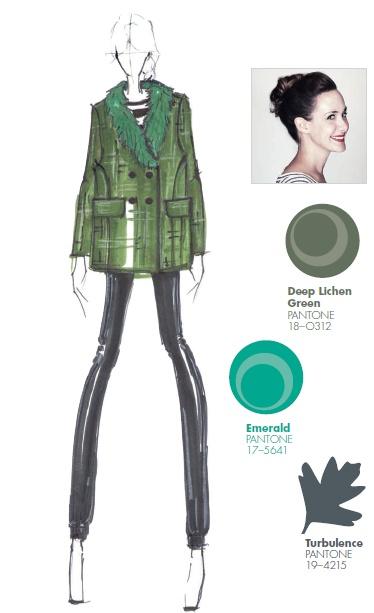 #FCRF13 Designer Inspiration: @Whitney Miano NYby Whitney Pozgay http://pantone.com/Fall2013