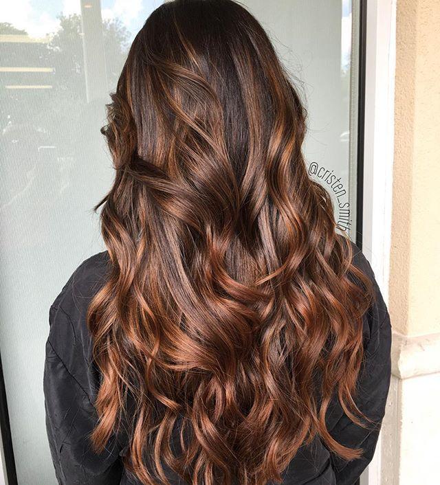 Caramel Mocha Balayage ☕️ Aveda Hair Balayage Hair