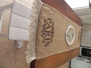 Mostrar detalles para Camino de mesa de arpillera