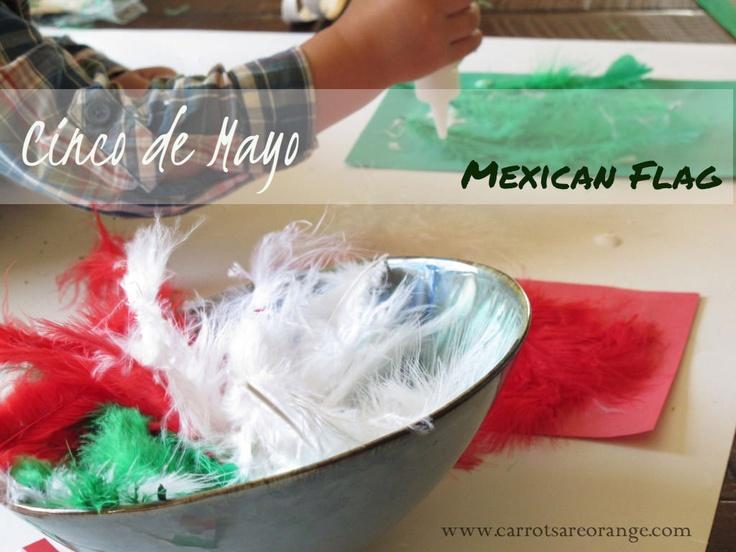 Mexican Flag – Cinco de Mayo Preschool Activity