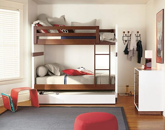 I really like this bunk bed if we end up putting the kids in the same room.