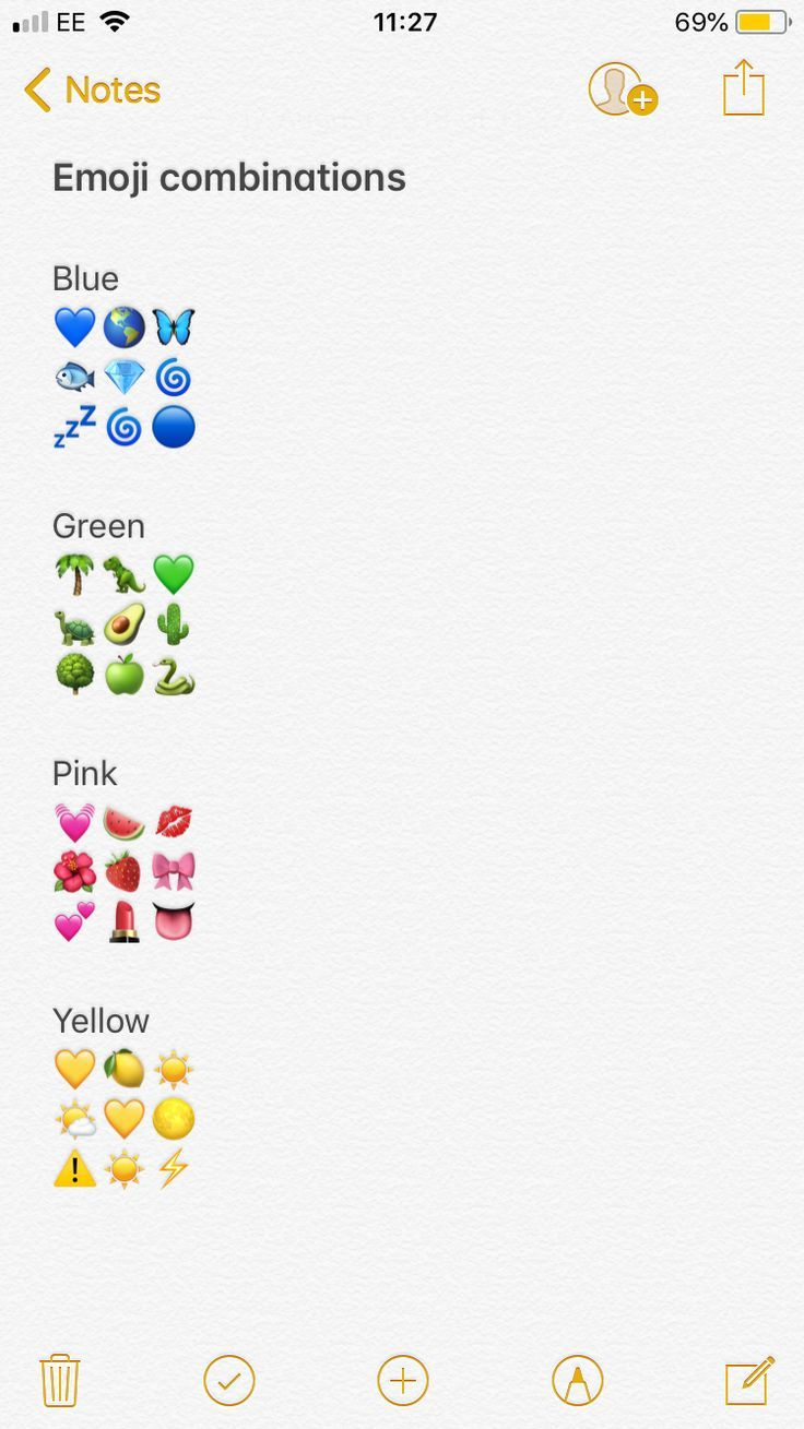 Snapchat Lifehack Emoji Combinaisons Color A Color Combinaisons Emoji Lifehack Snapc Instagram Emoji Instagram Quotes Captions Instagram Quotes
