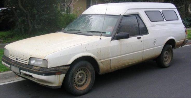 1990 Ford XF Falcon Panelvan (Australia), Same year I was born