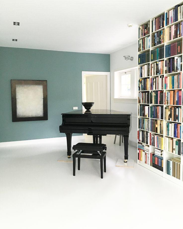 interieur kleuradvies Bussum door Studio Nest 10 | boekenkast ...