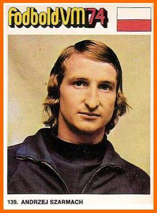 Andrzej Szarmach (Poland, 1973–1982, 61 caps, 32 goals), 1974 FIFA World Cup West Germany.