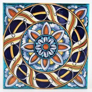 87 migliori immagini the beauties of italy deruta pottery - Decorazioni italiane ...