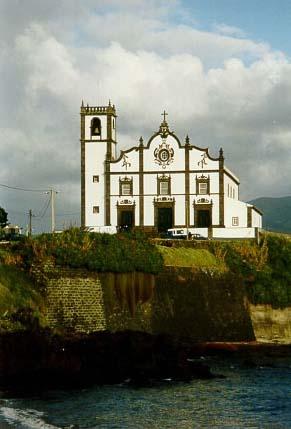 Church São Roque, (Patron saint of pilgrims, dogs and dog lovers) São Miguel, Azores, Portugal
