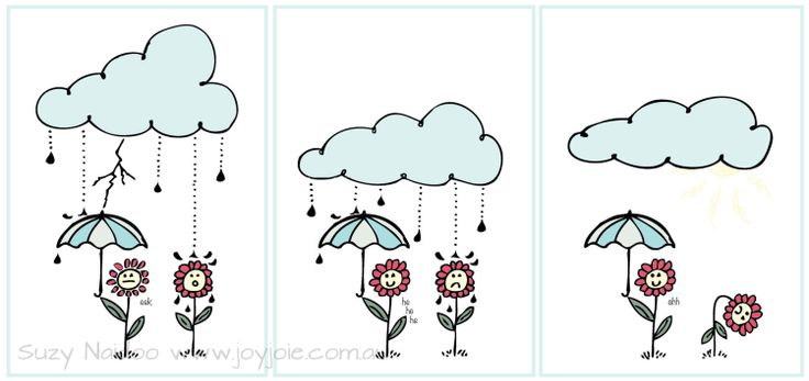 Cloudy Day Illustrations