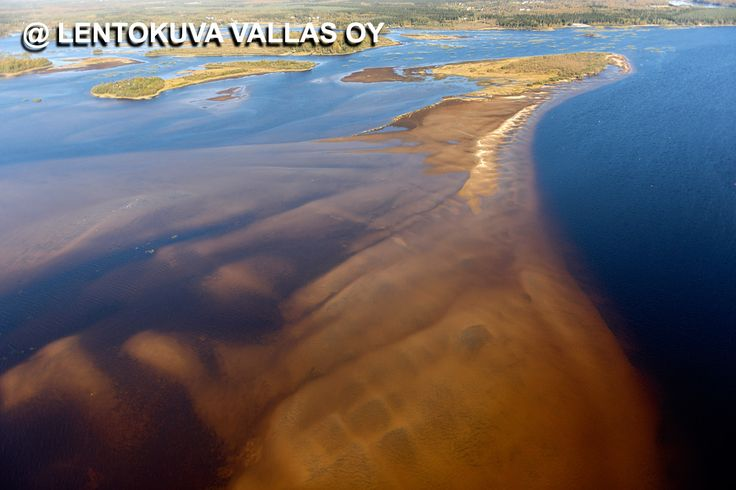 Tornio, Perämeren saaria ja hiekkasärkät Ilmakuva: Lentokuva Vallas Oy
