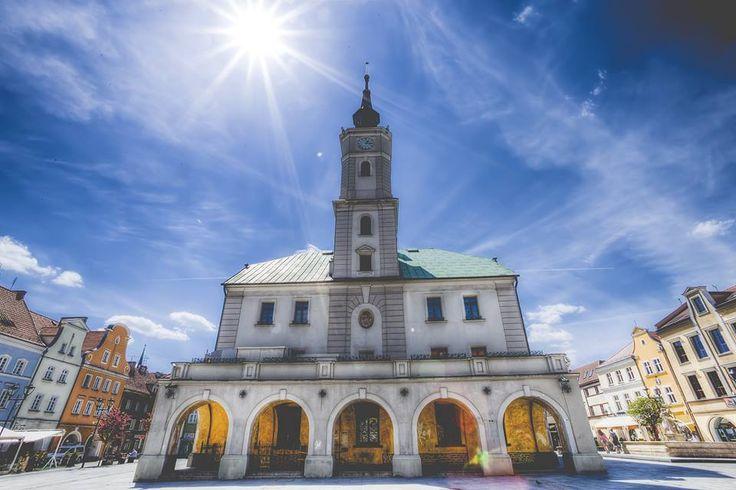 Rynek rozgrzany słońcem :-) fot. K.Szymik