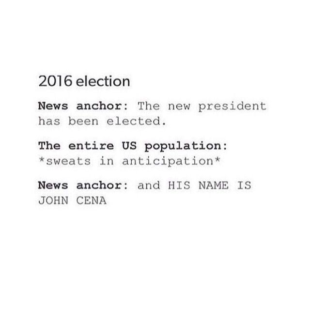 And HIS NAME IS JOHN CENA