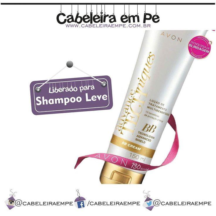 A @avonbrasil também tem opções para quem faz Low Poo (Shampoo Leve). O lançamento da linha Advance Techniques assinada por Marco Antônio de Biaggi o BB Cream Advance Techniques Loção de Tratamento Multibenefícios é liberado para quem usa Shampoo Sem Sulfato e promete 10 benefícios em apenas um produto sem enxágue.  #cabeleiraempe #tecnicasemshampoo #semshampoo #semxampu #tecnicashampooleve #shampooleve #xampuleve #poucoshampoo #poucoxampu #blog #cabelo #cabelos #beleza #hair #instalike…