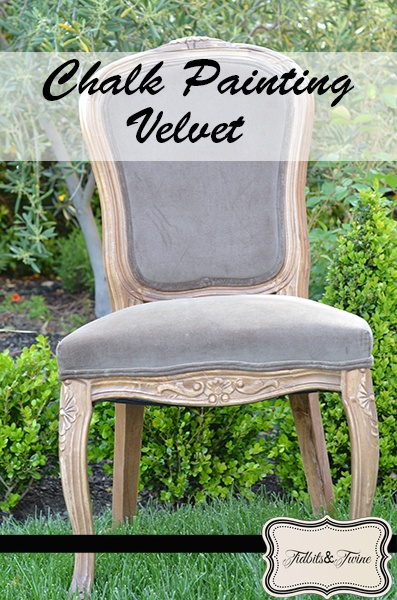 How To Paint Chair With Chalk Paint