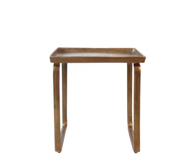 Table - Square Bronzed x3