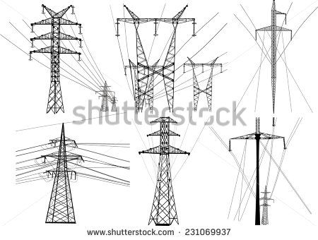 Electric Towers Stock Photos, Images, & Pictures | Shutterstock