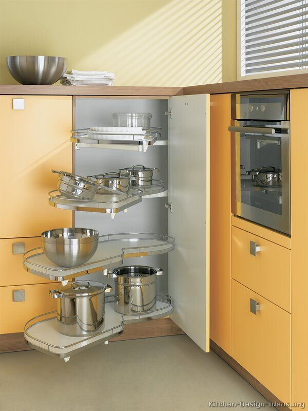 Kitchen Corner Cupboard Storage #kitchen