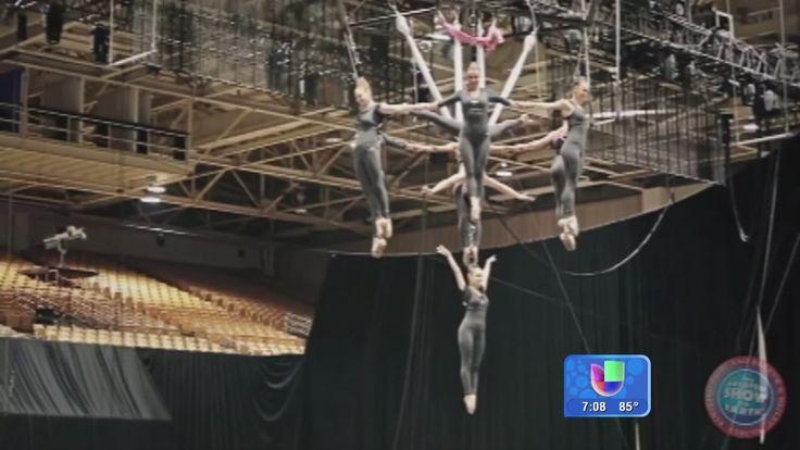 Aterrador accidente en el circo