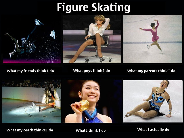 Figure Skating Humor. The last one is definitely what I do.