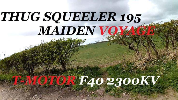 FPV MAIDEN - THUG SQUEELER -195 - T-MOTOR F40 - GEMFAN5050