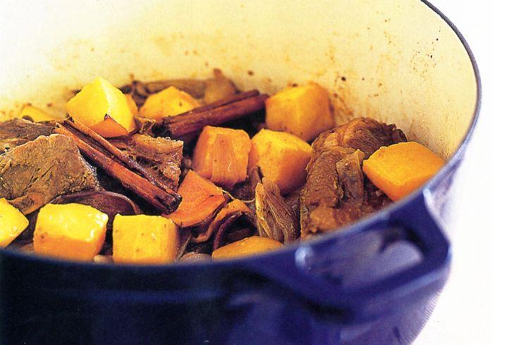 Honeyed Lamb And Pumpkin Casserole Recipe - Taste.com.au
