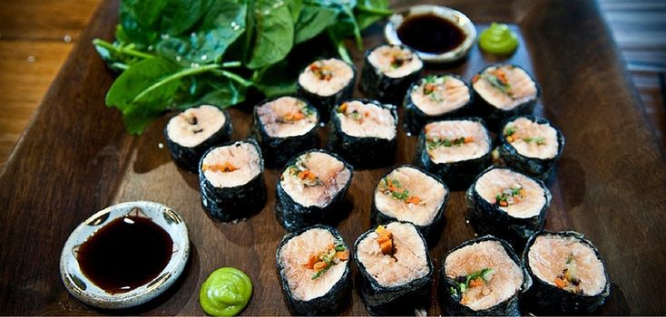 Homemade Sushi: These Nori Salmon Rolls Are a Must Try