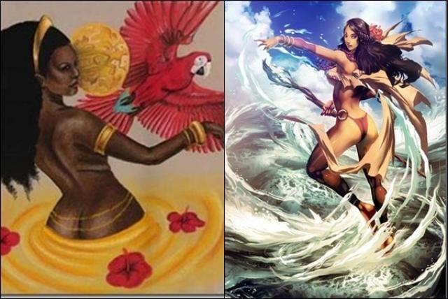 Oshun,(mitología yoruba)