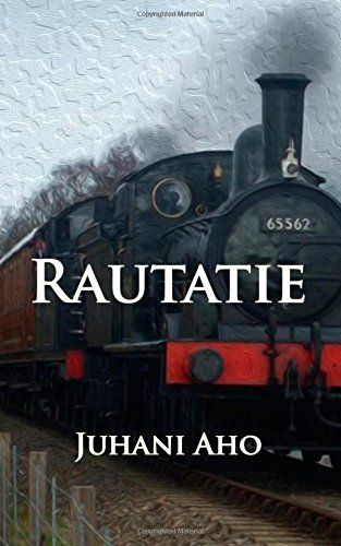 Rautatie (Finnish Edition) by Juhani Aho http://www.amazon.com/dp/1500331805/ref=cm_sw_r_pi_dp_KIWdub193274Q *** Juhani Aho, originally Johannes Brofeldt, (11 September 1861; Lapinlahti – 8 August 1921; Helsinki), Finnish author and journalist. -- http://en.wikipedia.org/wiki/Juhani_Aho