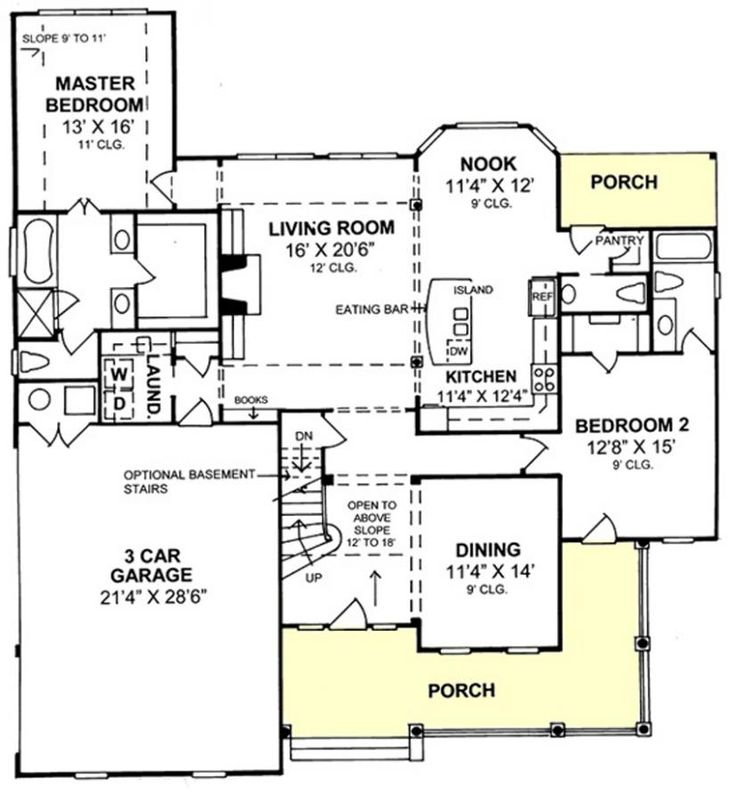 14 best House plans images on Pinterest | Dream house plans, Homes ...