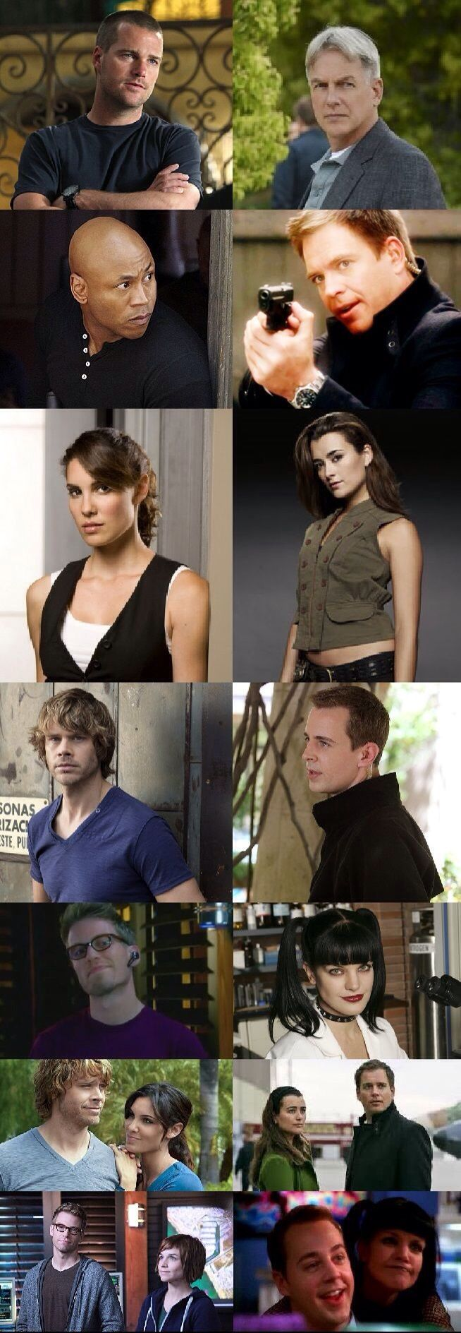 My TWO favorite shows!!! :D #NCIS #NCIS:LA