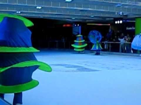 Olympic Mascots on ICE - YouTube