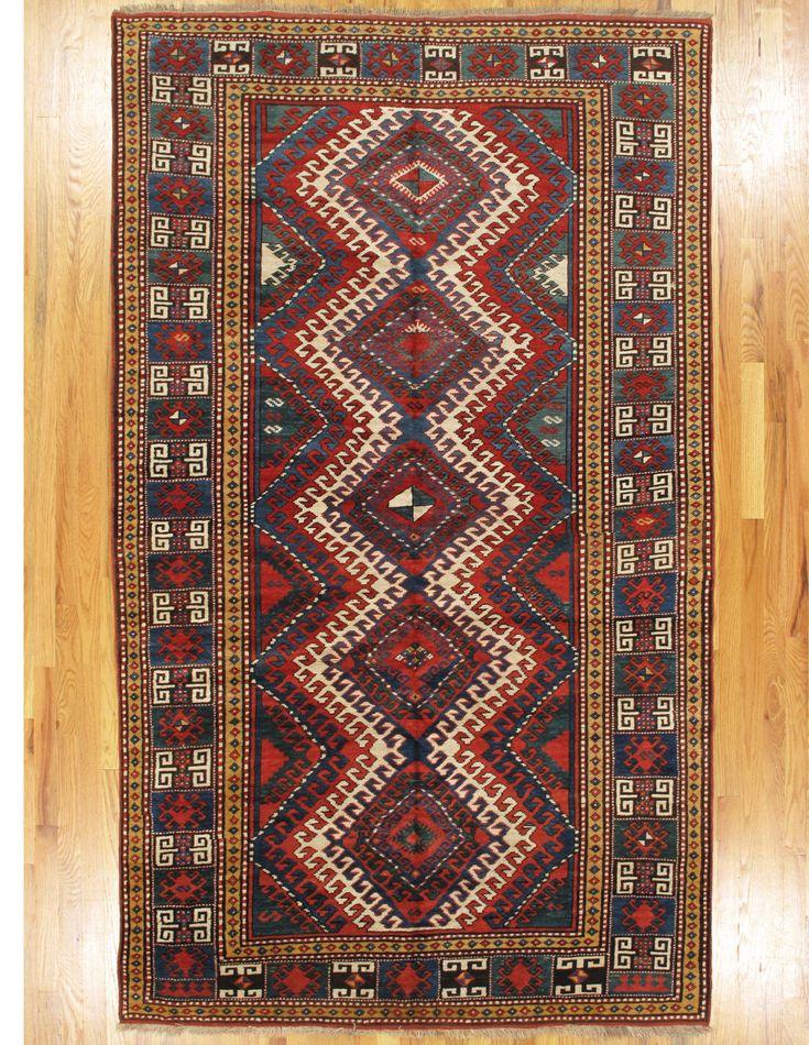 Bordjalou Kazak Rug From Southwest Caucasus Age Circa 1890 Size 8