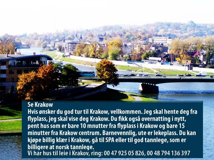 Feriehus i Krakow i Polen http://www.wynajem.no