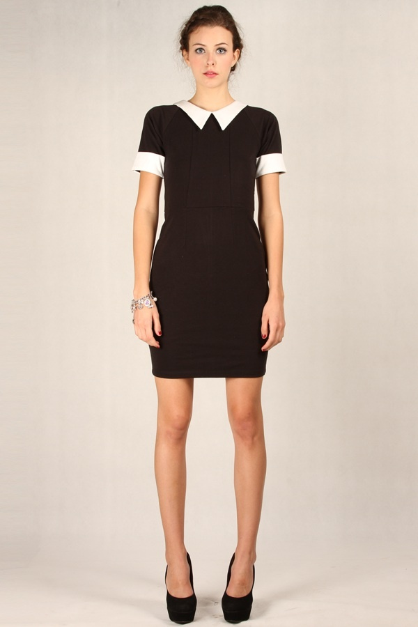 Alyssa Dress Black www.pinkemma.com