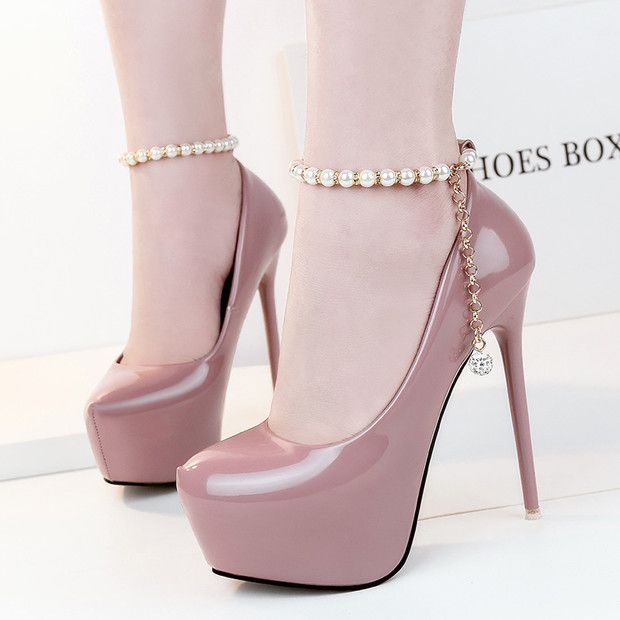 Buy Now (Ladies Beading Platform Stiletto High Heels) from Sheetag - http://www.sheetag.com/product/ladies-beading-platform-stiletto-high-heels/