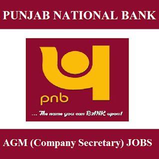 PNB Recruitment 2017   AGM(Company Secretary) Jobs   Apply Online   Sarkari Naukri