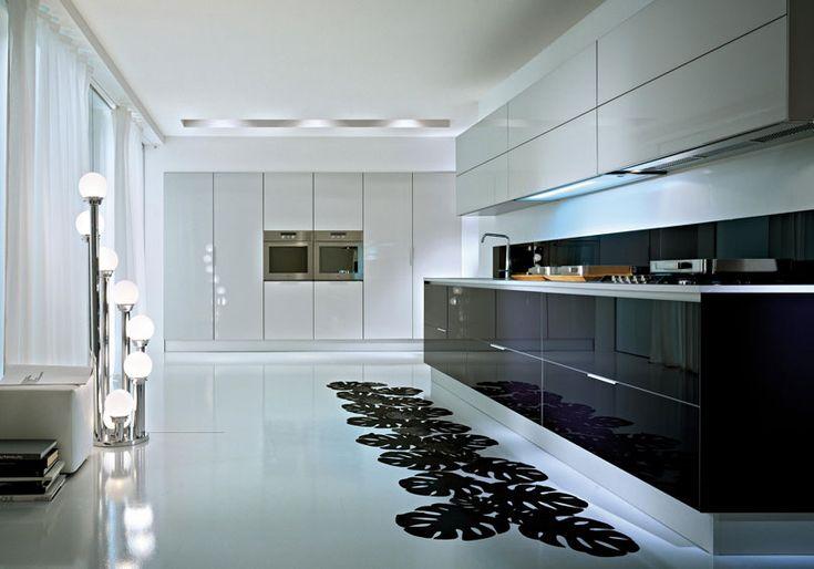 cocinas de lujo modernas
