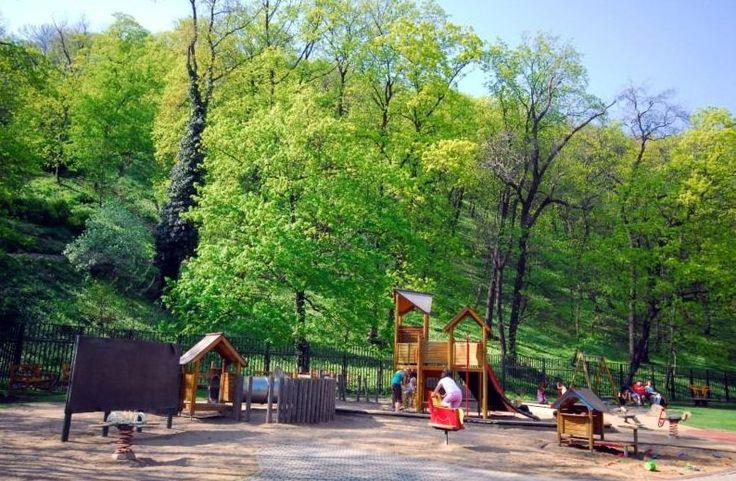 Dětské hřiště Kinského zahrady