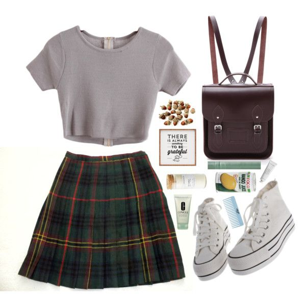 A fashion look from September 2015 featuring Jones New York skirts and The Cambridge Satchel Company backpacks. Browse and shop related looks.
