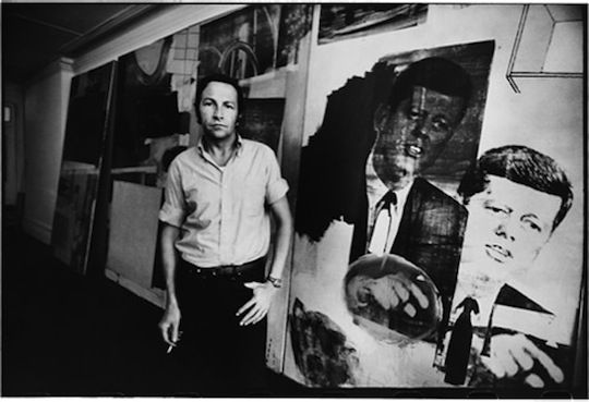 """The artist's job is to be a witness to his time in history."" - Robert Rauschenberg"