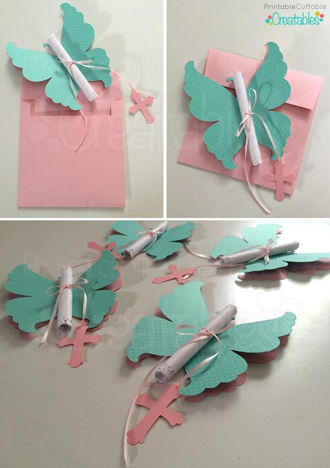 DIY Butterfly Invitations Tutorial + SVG Cutting Files