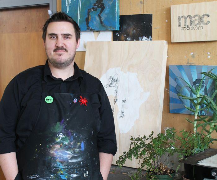 Meet The Artists: Behind-the-scenes with Joe Mcmenamin… http://nzartprints.co.nz/2014/07/meet-the-artists-joe-mcmenamin/