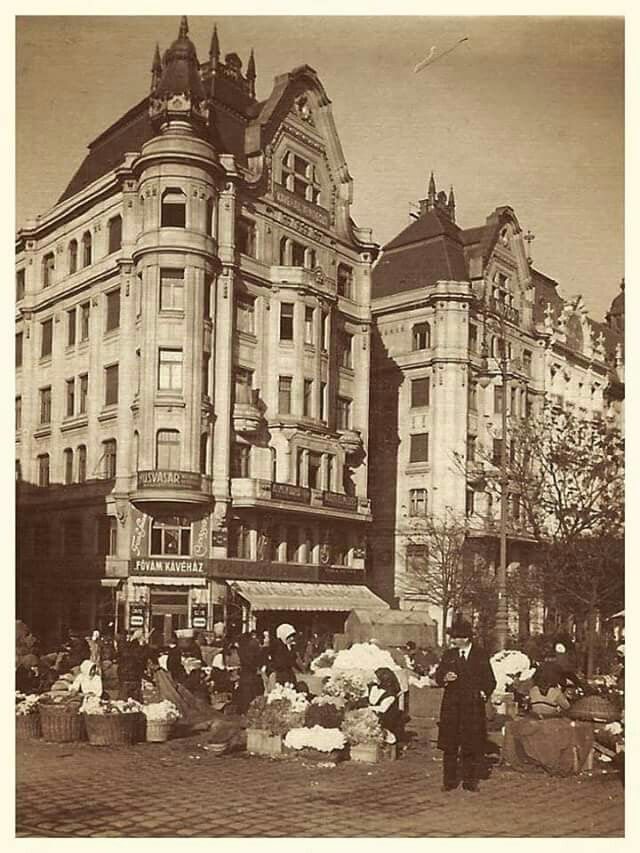 1910. Fővámtér