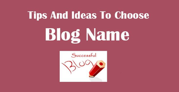 There are many popular #blogs I have seen whose names are completely different from their #domain name and are performing extremely well if you see from #SEO point of view and gaining #traffic.