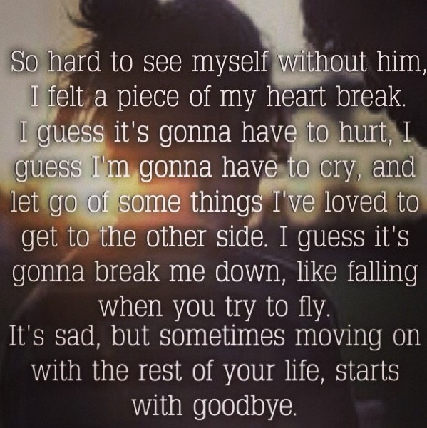 Carrie Underwood - Starts with good-bye