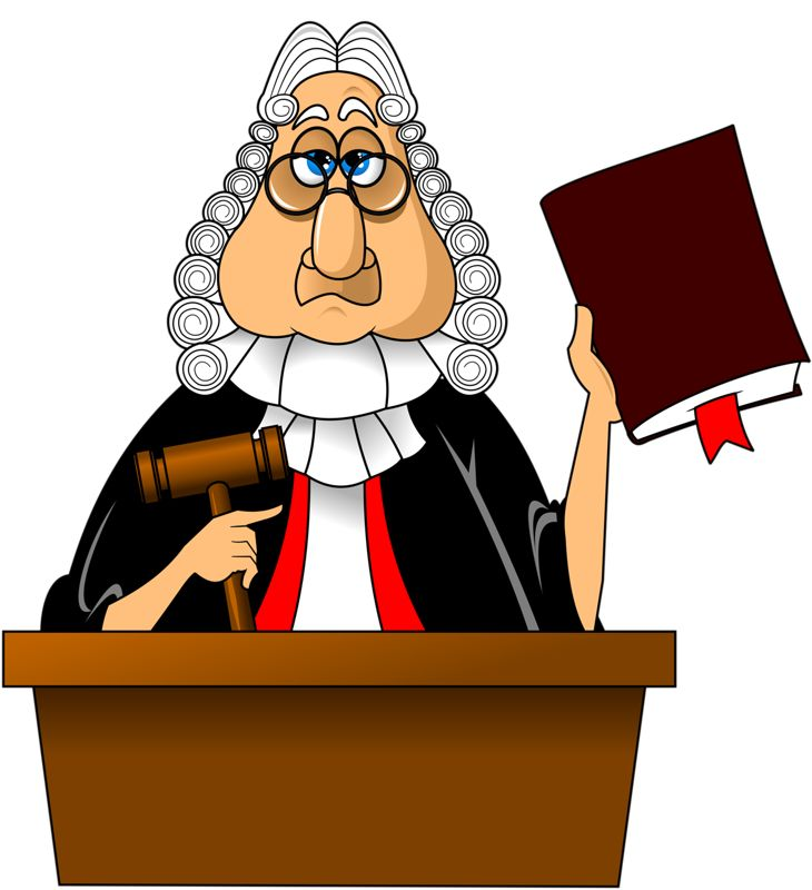 clipart of judge - photo #39