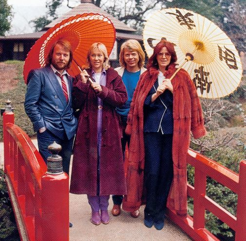 ABBA in Japan.